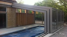 | Pool Cover Retractable | Pool Enclosure | Need a breeze but don't want to open the Pool Enclosure. Just hit the remote control. https://www.youtube.com/watch?v=zajmlZo3qvU