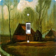 "Rikki KnightTM Van Gogh Art Among Trees - Single Toggle Light Switch Cover by Rikki Knight. $13.99. The Van Gogh Art Among Trees single toggle light switch cover is made of commercial vibrant quality masonite Hardboard that is cut into 5"" Square with 1'8"" thick material. The Beautiful Art Photo Reproduction is printed directly into the switch plate and not decoupaged which make these Light Switch Plates suitable for use in any room in the office, home, etc. etc.. Thes..."