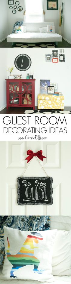Guest room design ideas inspired by my favorite piece of @sauderusa furniture. Lots of fun little ideas to make a guest room special! #PutTogether (sponsored)
