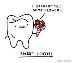 Valentine's Day teeth and dentist funny and cool images to share with friends, workers and patients. Funny and cute, dental Valentine's Day images. Cute Puns, Funny Puns, Funny Stuff, Hilarious, Funny Things, Funny Food, Food Humor, Funny Art, Random Stuff