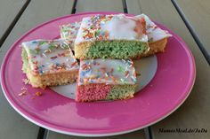 Bunter Regenbogen-Kuchen