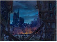 Belíssimas artes de Michael Humphries para a Disney | THECAB - The Concept Art Blog