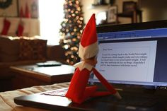 Love the not so positive note ! Sometimes kiddos loose sight of the reason the elf is visiting!