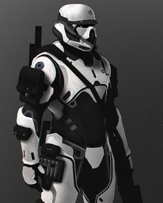 We've got some very cool fan-made Star Wars concept art that was whipped up by artist Mohammed Z. Mukhtar. He calls his characters the Stormtrooper Elite, and they feature a few new Stormtrooper concept designs. I also included a Darth Vader redesign that he created. What do you think?