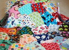 Reusable Cloth Wipes or Family Cloth - Boy, Girl or Gender Neutral Prints - Set of 10. $10.00, via Etsy.
