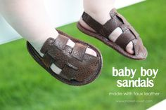 http://www.makeit-loveit.com/2011/08/baby-boy-sandals-made-with-faux-leather.html