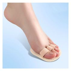 Left Foot Triple Toes Straightener Hammer Crooked Overlapping Toe
