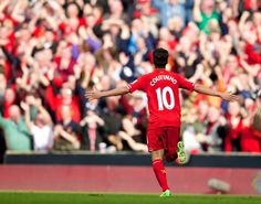 Our inspiring new Brazilian playmaker, Philippe Coutinho #LFC #YNWA