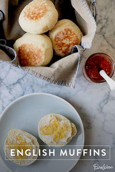 English Muffins via @PureWow