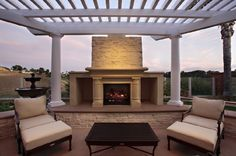 Outdoor fireplace outdoor-fireplace