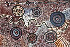 Watarru collaborative - Ilpili - 150 x 100 cm http://www.aboriginalsignature.com/art-aborigene-tjungu-palya/watarru-collaborative-ilpili-150x100cm