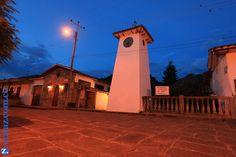 Restaurante y cafetería La Torre en el corregimiento de Guane. Barichara, Santander