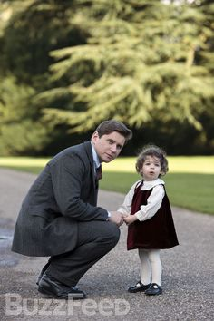 """To the manner born? While it appears as though the """"Fenian baby"""" is fitting in quite well at Downton, one can't help but wonder how the Crawleys will react should Tom decide to take a new bride. Hmmm… 