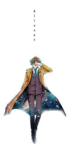 Anime 10th Doctor <3