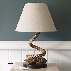 Serena & lily....Spinnaker lamp for that nautical room :) $250   serenaandlily.com   Great house items