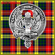 BUCHANAN Clan Crest Pewter Badge CB02 by celticstudio on Etsy, $22.98