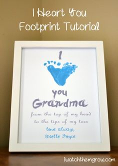 Adorable footprint and handprint gift ideas perfect for Mother's Day | BabyCenter Blog