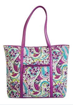 Disney Vera Bradley Bag - Plums Up - Vera Tote