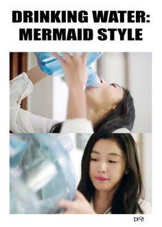 legend of the blue sea Suzy, Jun Ji Hyun, Drama Memes, Japanese Drama, Deep Blue Sea, Kdrama Actors, Korean Actresses, Funny Clips, Lee Min Ho