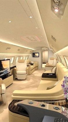 The best private jets - Flugzeuge - Helicopter - Drohnen - Luxury Lifestyle Jets Privés De Luxe, Luxury Jets, Luxury Private Jets, Private Plane, Private Jet Interior, Luxury Lifestyle Fashion, Boujee Lifestyle, Wealthy Lifestyle, Luxury Cars