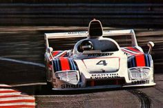 Le Mans, 1977: Overall winning Porsche 936, with Barth, Ickx, & Haywood