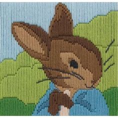 I WANT THIS!  Peter Rabbit Long Stitch Kit