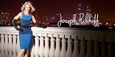 This gorgeous dress is one of the newest creations from Joseph Ribkoff. Must see it in person!