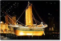 Mariner's Museum at Newport News, a miniature ship