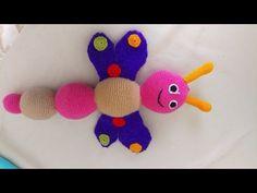 (Amigurumi) Örgü Bebek Tavşan Çıngırak Yapımı 1.Bölüm 1/2 - YouTube
