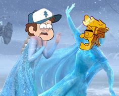 The newest gravity falls episode was so sad<<<THE GOLD NEVER BOTHERED ME ANYWAY