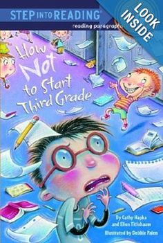 #3rdGrade Back to School Books - A Grade Specific Reading List