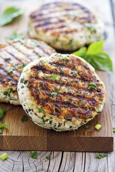 Green Goddess Turkey Burgers by theironyou #Turkey_Burgers #Healthy