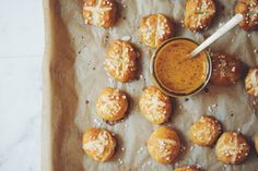 be sure to get into these vegan pretzel bites as an after school snack or  at your next party!