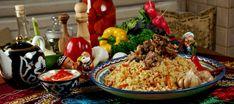 История плова, происхождение блюда - Империя вкусов Paella, Grains, Rice, Ethnic Recipes, Food, Essen, Meals, Seeds, Yemek