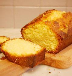 Quatre quart vanille sans gluten sans lactose !