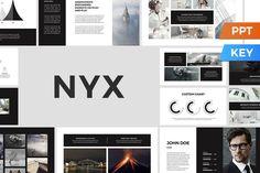 Nyx Presentation Template by SlideStation on @creativemarket