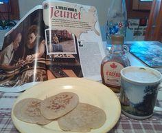 Per la mia prima cinecolazione, nulla di meglio di pancake, sciroppo d'acero e... Helena Bonham Carter!