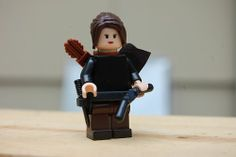 OMG a Katniss Everdeen mini Lego... going to have to add this to my collection!!