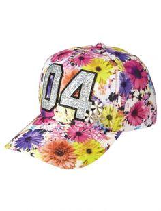 Floral Photoreal Baseball Cap