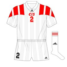 CIS (Russia) away kit for Euro '92.