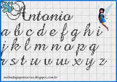 Ponto Cruz da Samsara: Monogramas e gráficos!
