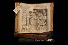 Emma Taylor, Book Sculpture 06 | 12 Amazing Works Of Art Made From Books