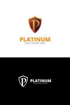 Platinum P Letter Logo Template #Logo #Letter #Platinum #Template