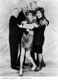 """After 11 seasons,""""The Carol Burnett Show"""" aired its last original episode on March 30, 1978. """"A Special Evening With Carol Burnett,"""" with a cameo by Jimmy Stewart and a poignant farewell with the Charwoman. Photo of Burnett, Vicki Lawrence, Tim Conway, Harvey Korman and Lyle Waggoner courtesy of CBS."""