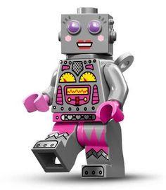 Lego minifigs serie 11 - girl robot