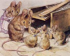 Cute illustrations - le mani nella marmellata: Beatrix Potter