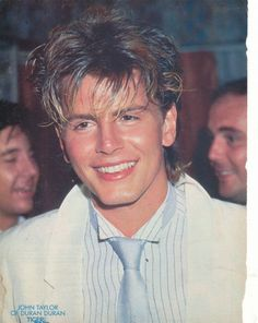 John Taylor - Duran Duran  Had this photo in a Japanese tour book a friend sent me (many moons ago) it is still my FAVORITE picture of John Taylor.  <3