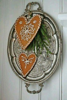 Great new use for old silver tray!