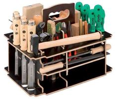 is about the coolest organizer I have seen. Holds a crazy number of items in such a small place.This is about the coolest organizer I have seen. Holds a crazy number of items in such a small place. Workshop Storage, Workshop Organization, Garage Organization, Tool Storage, Organizing, Festool Systainer, Cool Tools, Diy Tools, Wood Projects