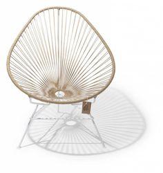 La silla original con estructura blanca, 100% hecha a mano. ¿Probaste tuya ya?